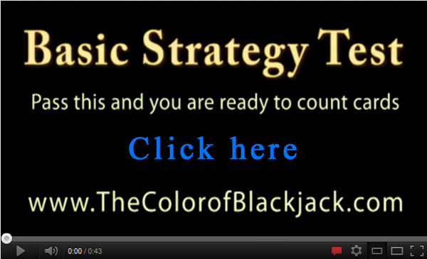 Blackjack Basic Strategy test